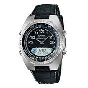 Casio® Pathfinder Forester Mens Analog/Digital Watch AMW700B-1AV