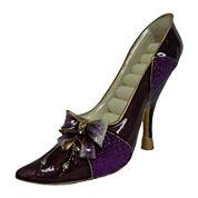 Purple Bow Shoe Ring Holder