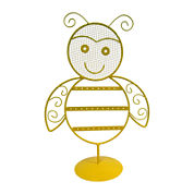 Yellow Bee Earring Holder