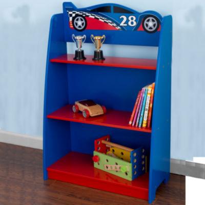 kidkraft racecar bookshelf