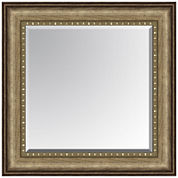 Leighton Bead Inset Beveled Wall Mirror