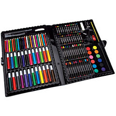 Artyfacts 120-Piece Portable Deluxe Art Studio Kit