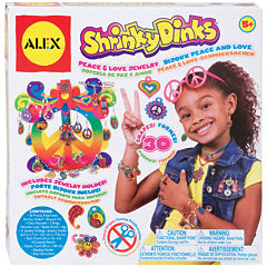 ALEX TOYS® Peace & Love Shrinky Dinks Jewelry Kit