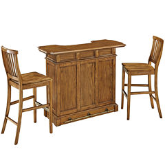 Bransford Bar with 2 Barstools