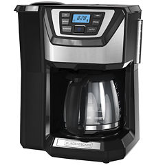 Black+Decker CM5000B Mill & Brew Coffeemaker withIntegrated Whole Bean Grinder