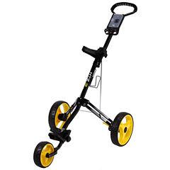 Hot-Z 3.0 - 3 Wheel Push Cart - Black