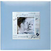 Fabric Expressions Baby Blue 200-Pocket Photo Album