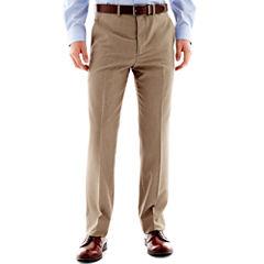 JF J. Ferrar® End on End Flat Front Suit Pants - Slim Fit
