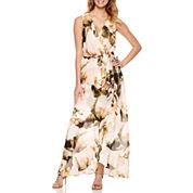 Ombre Sleeveless Maxi Dress