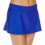Aqua Couture Push Up Molded Tankini or Solid Swim Skirt