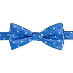 STAFFORD PISMO BEACH BOLD DOT PRE-TIED BOWTIE