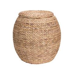 Household Essentials® Round Wicker Basket