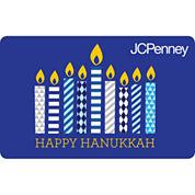 Hanukkah Candles Gift Card