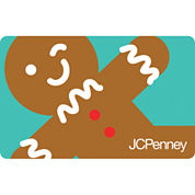 Winky Gingerbread Gift Card