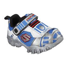 Star Wars™ Skechers R2D2™ Damager Boys Light-Up Athletic Shoes - Toddler