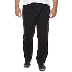 Asics® Fleece Athletic Warm Up Pants - Big & Tall