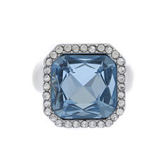 Monet Jewelry Womens Blue Stretch Ring