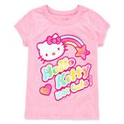 Hello Kitty Hello Kitty Graphic T-Shirt-Toddler Girls