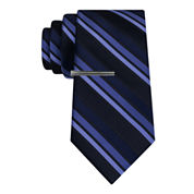 J.Ferrar Formal Multi Stripe XL Tie