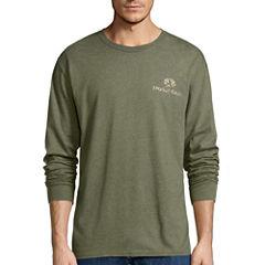 Mossy Oak Long Sleeve Crew Neck T-Shirt