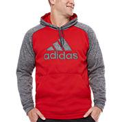 Adidas Long Sleeve Knit Hoodie Big and Tall