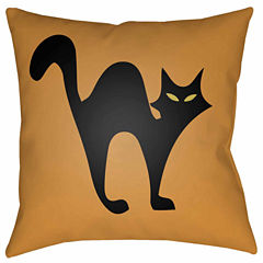 Decor 140 Alley Cat Square Throw Pillow