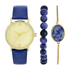Womens Blue Watch Boxed Set-Wac5269jc