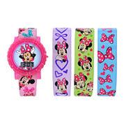 Girls Multicolor Strap Watch-Mbt3752jc