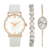 Womens White Watch Boxed Set-Wac5271jc
