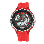 Armitron All Sport Mens Red Strap Watch-20/5134red
