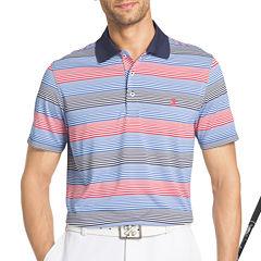 IZOD Golf Infinity Stripe Short Sleeve Polo Shirt
