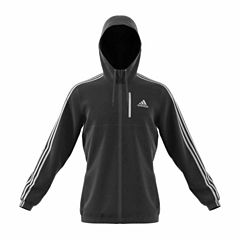 Adidas Long Sleeve Essential Woven Jacket- Big & Tall