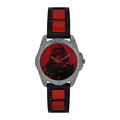 Star Wars® Mens Red Strap Watch