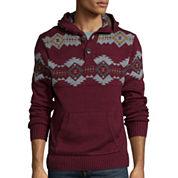 Arizona Long-Sleeve Henley Sweater