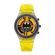Boys Yellow Strap Watch-Bat4555jc
