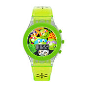 Boys Green Strap Watch-Tmr4064jc
