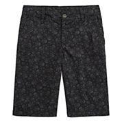 Arizona Poplin Chino Shorts - Boys 8-20, Slim and Husky