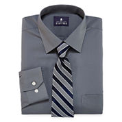 Stafford Travel Easy-Care Dress Shirt and Tie Set