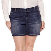 Liz Claiborne Denim Shorts Plus