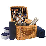 Picnic Time® Canterbury Picnic Basket for Two