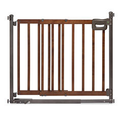 Summer Infant® Step-to-Secure Wood Walk-Thru Gate
