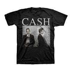 Novelty Johnny Cash Short-Sleeve T-Shirt