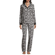 Liz Claiborne Fleece Pant Pajama Set
