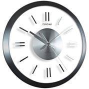 FirsTime® Modish Gunmetal Wall Clock