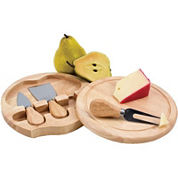 Picnic Time® Brie Cheeseboard with Tools