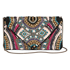 Mixit Beaded Clutch
