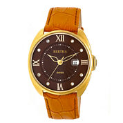 Bertha Womens Brown Strap Watch-Bthbr6306