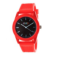 Crayo Unisex Red Strap Watch-Cracr3702