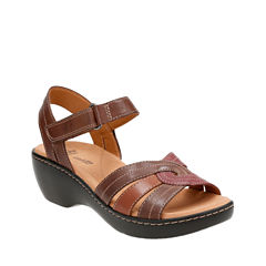 Clarks Delana Verro Womens Strap Sandals