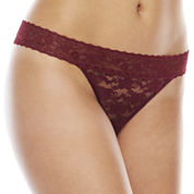 Ambrielle Lace Thong Panty